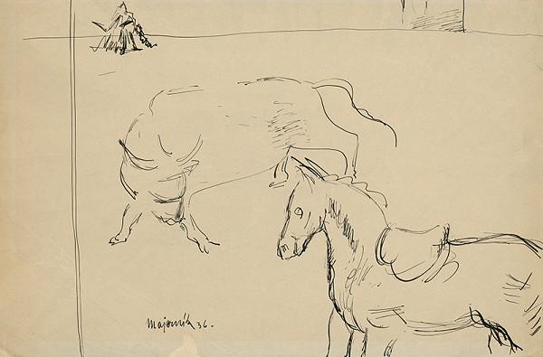 Cyprián Majerník – Kôň a býk