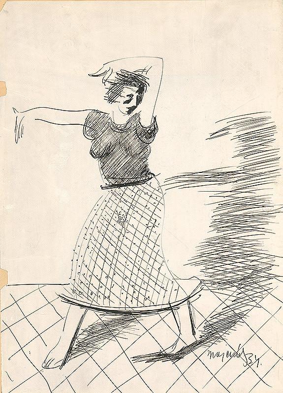 Cyprián Majerník – Tanečnica