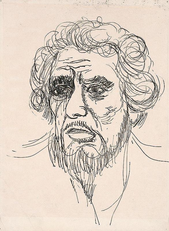 Cyprián Majerník - Autoportrét