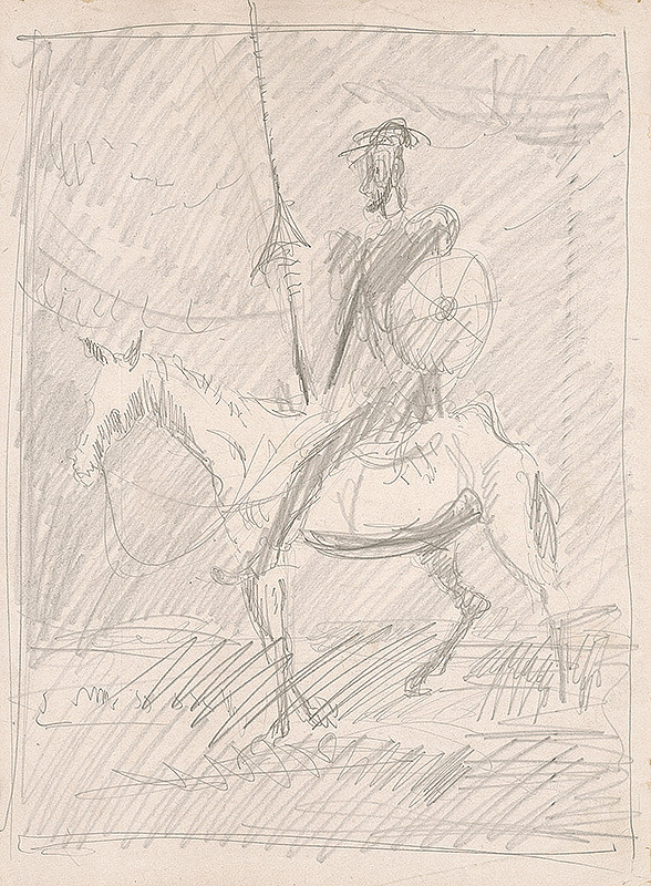 Cyprián Majerník – Štúdia Dona Quijota