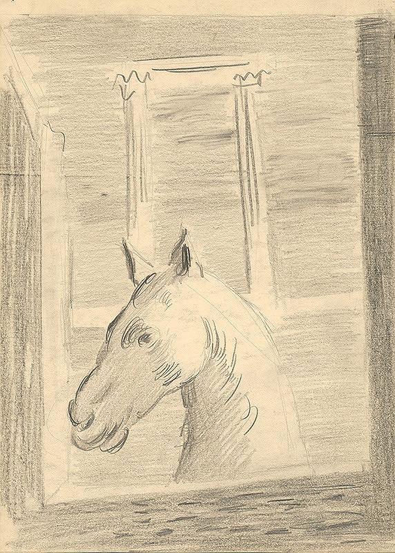 Cyprián Majerník - Hlava koňa