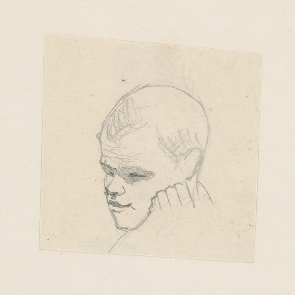 Ivan Žabota - Muž podopierajúci si hlavu