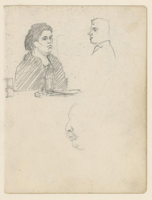 Ivan Žabota – Žena pri stole
