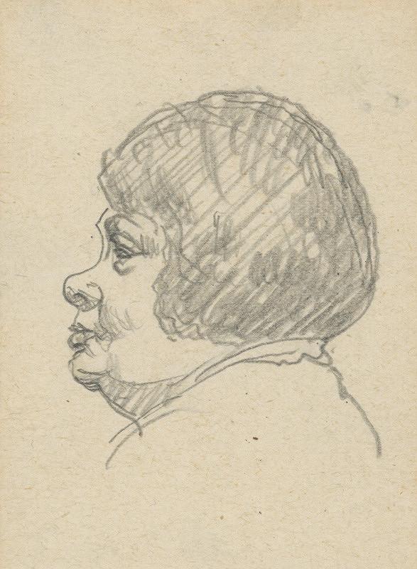 Ivan Žabota – Hlava staršej ženy