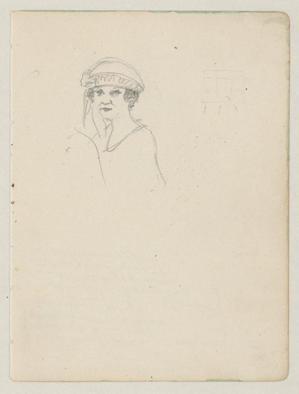 Ivan Žabota - Žena v klobúku