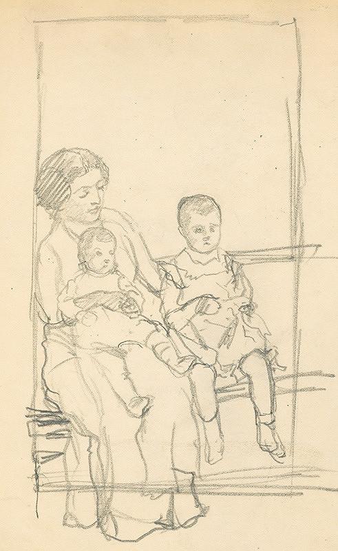Ivan Žabota - Matka s deťmi 1.