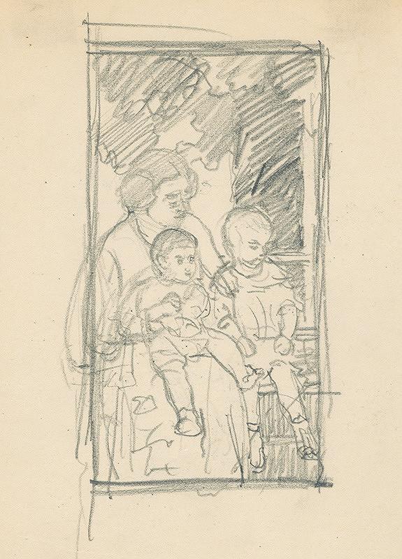 Ivan Žabota – Matka s deťmi