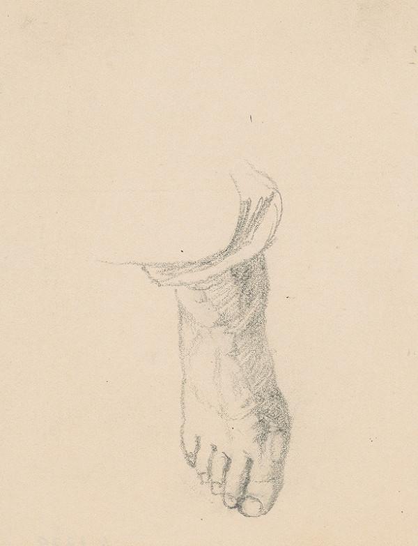 Ivan Žabota – Štúdia nohy