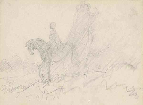 Ivan Žabota – Jazdec v krajine