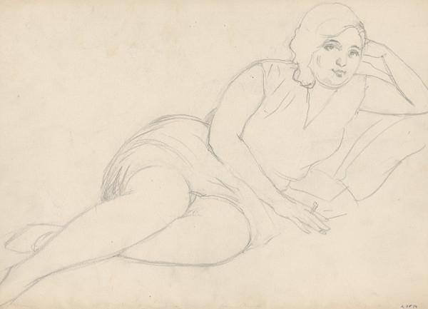 Ivan Žabota – Žena na pohovke