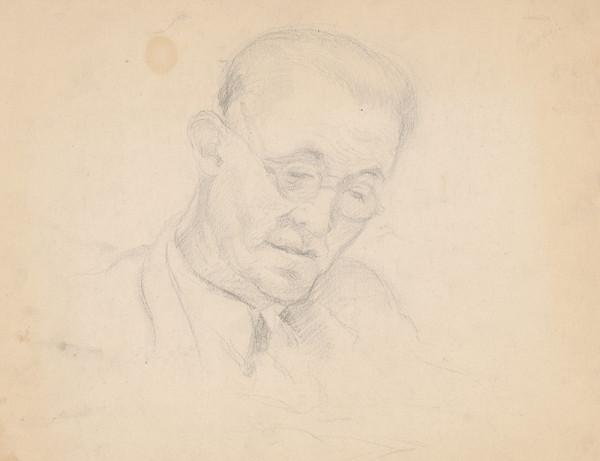 Ivan Žabota - Starší muž s okuliarmi