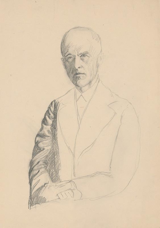 Ivan Žabota - Muž s preloženými rukami