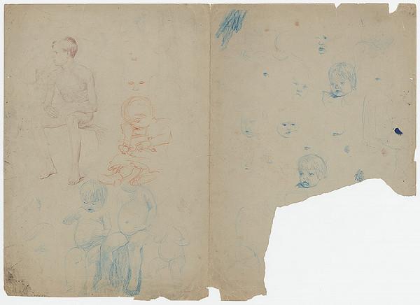 Ivan Žabota – Figurálne náčrty