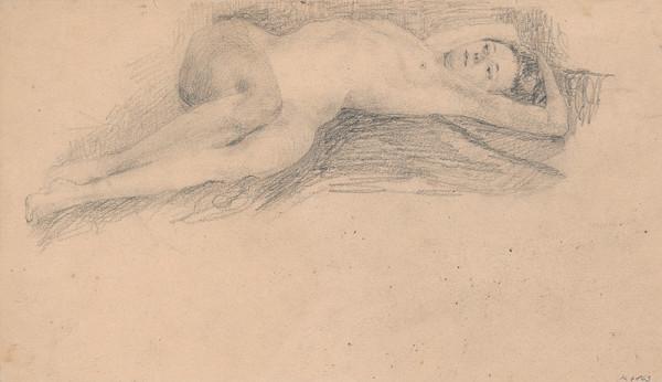 Ivan Žabota - Ležiaci ženský akt