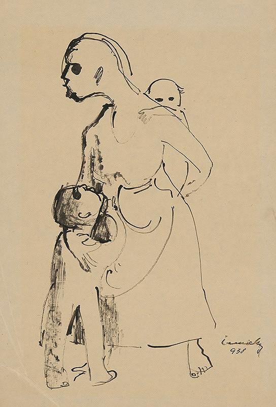 Ladislav Čemický - Matka s deťmi