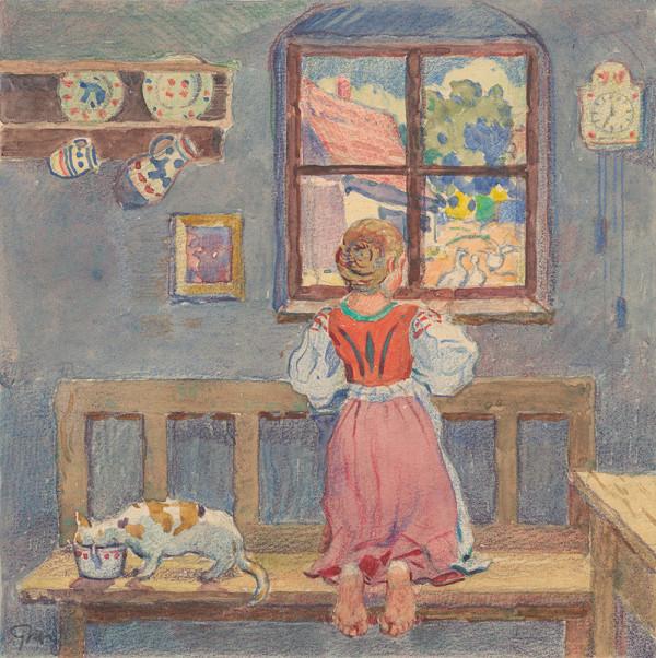 Gustáv Mallý – 7.- Pohľad z okienka izby