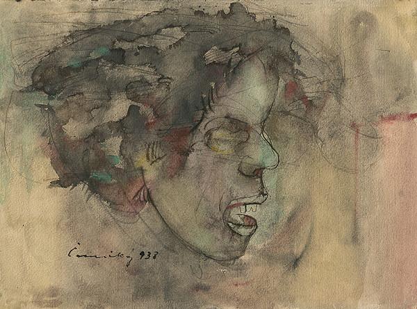Ladislav Čemický – Hlava z profilu