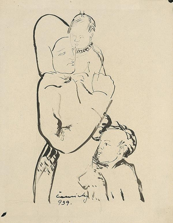 Ladislav Čemický – Matka s deťmi