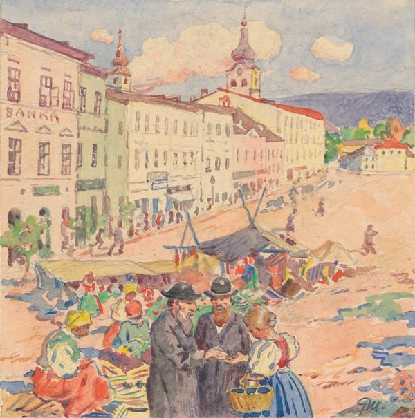 Gustáv Mallý - 11.- Na trhu