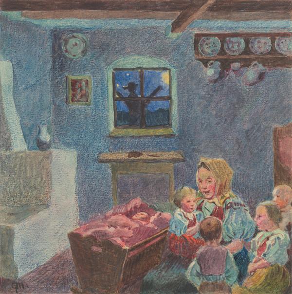 Gustáv Mallý - 16.- Matka s deťmi
