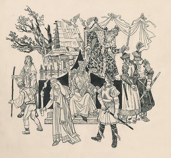 Jaroslav Vodrážka – Matej, veľký kráľ