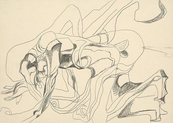 Milan Mravec - 1:Kresba z roku 1972
