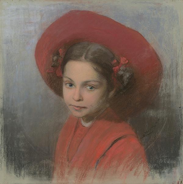 Ľudovít Čordák - Podobizeň umelcovej dcéry Georgíny