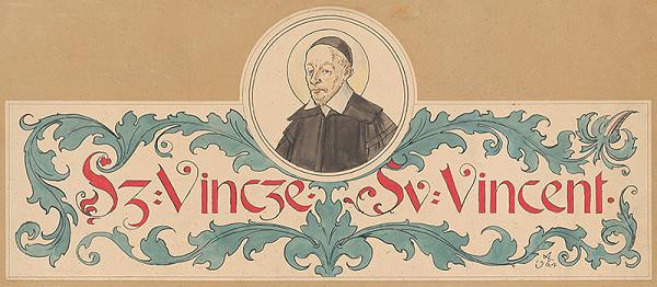 Mikuláš Aleš - Svätý Vincent