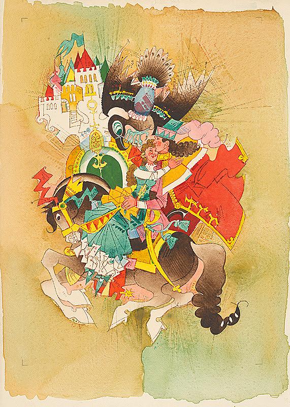 Ferdinand Hložník - Majvlena a kráľovič