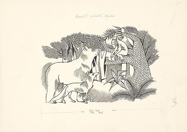 Ferdinand Hložník – Kančil potrestá opicu