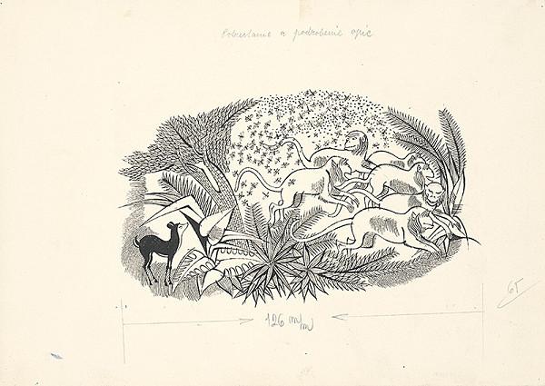 Ferdinand Hložník - Potrestanie a podrobenie opíc