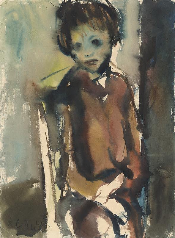 Vincent Hložník – Dievčatko