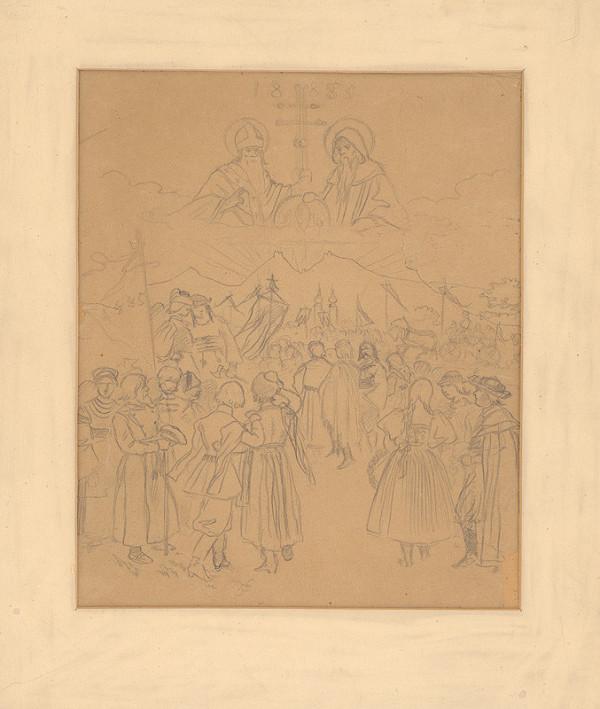 Mikoláš Aleš – Svätý Cyril a Metod