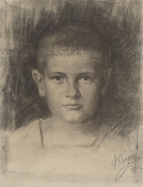 Ladislav Treskoň – Štúdia chlapca