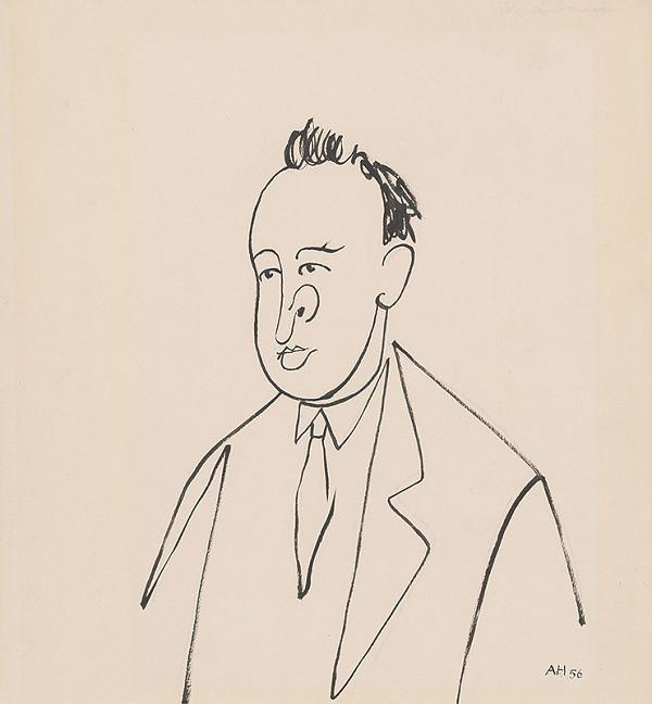 Adolf Hoffmeister – Karikatúrna kresba - Pavol Horov