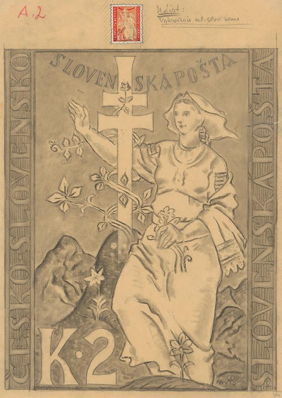 Martin Benka - Návrh na známku
