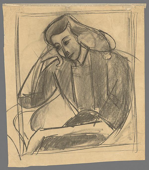 Eugen Nevan - Podobizeň manželky