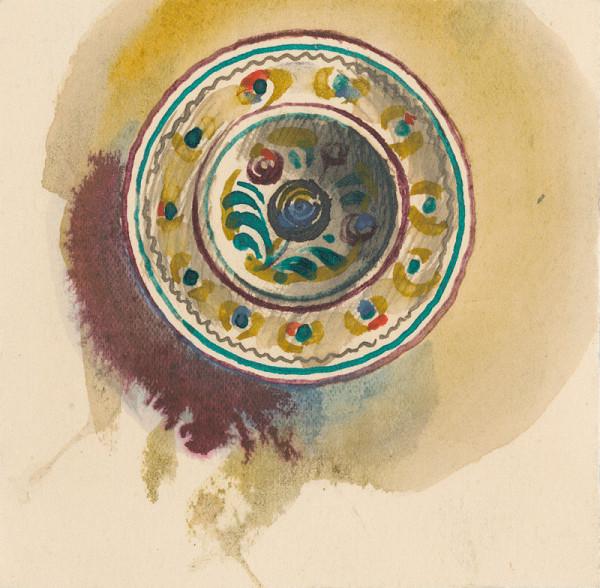 Štefan Cpin - Maľovaný tanier