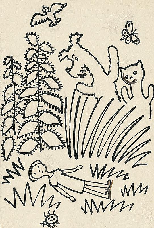 Josef Čapek – 13. Povídání o pejskovi a kočičce