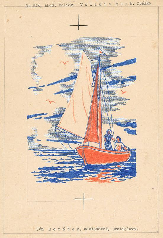 Vojtech Stašík – Volanie mora - obálka