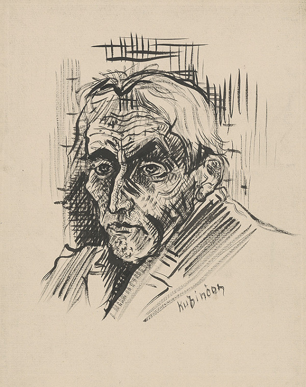 Arnold Peter Weisz-Kubínčan – Hlava muža