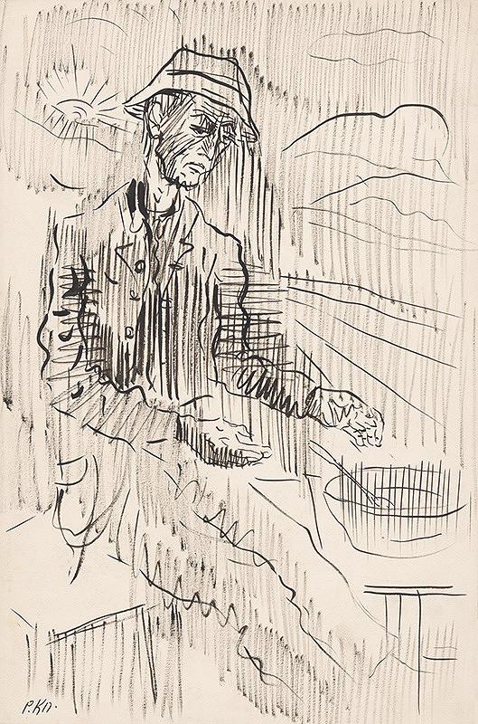 Arnold Peter Weisz-Kubínčan - Chudobná večera