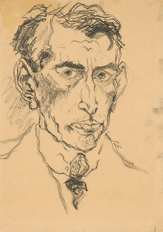 Arnold Peter Weisz-Kubínčan - Autoportrét