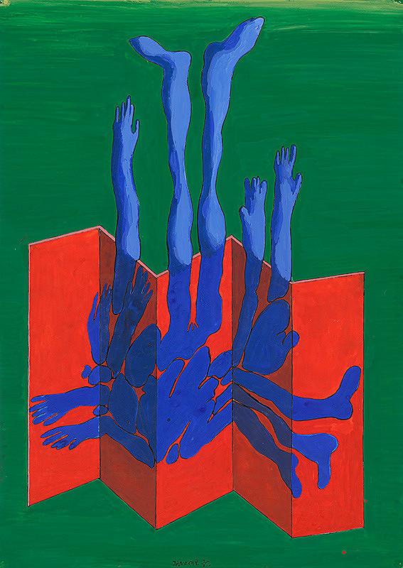 Jozef Jankovič – Modrá, červená, zelená