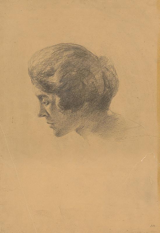 Ľudovít Čordák - Hlava ženy