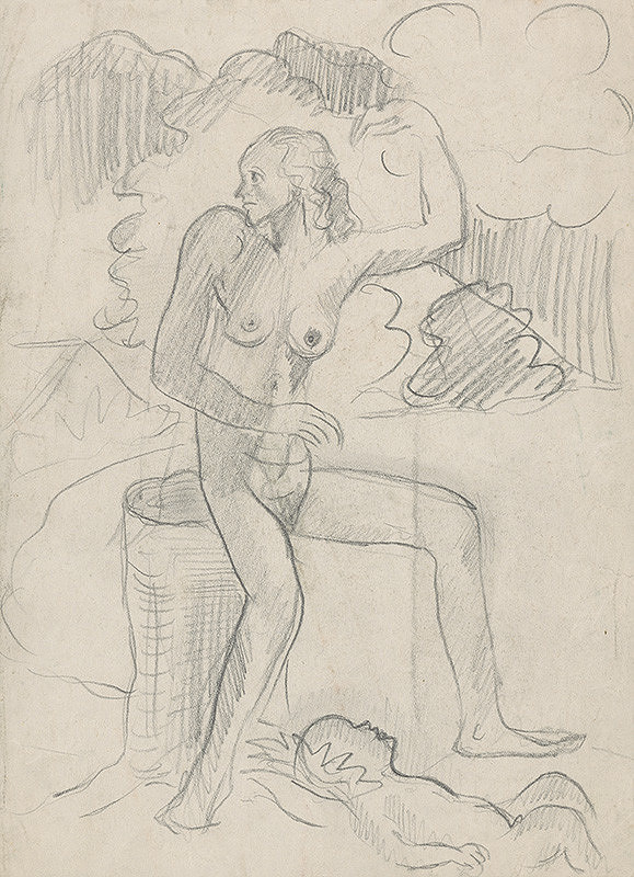 Arnold Peter Weisz-Kubínčan - Žena s dieťaťom