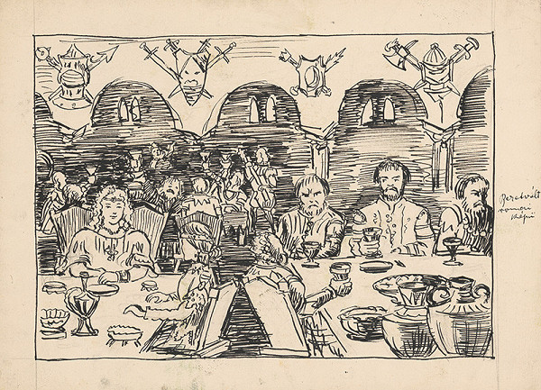 Arnold Peter Weisz-Kubínčan – Ilustrácia k rozprávke
