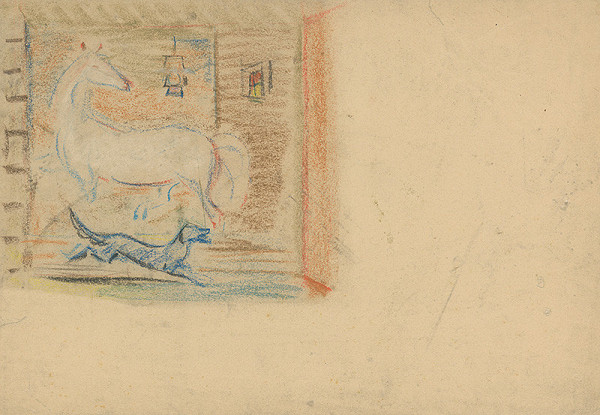Arnold Peter Weisz-Kubínčan – Kôň a pes