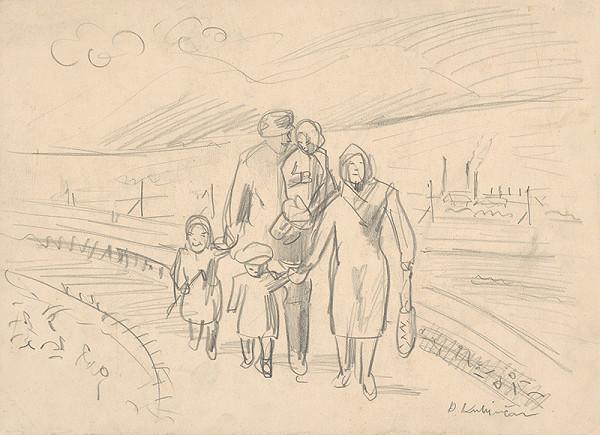Arnold Peter Weisz-Kubínčan - Rodičia s deťmi