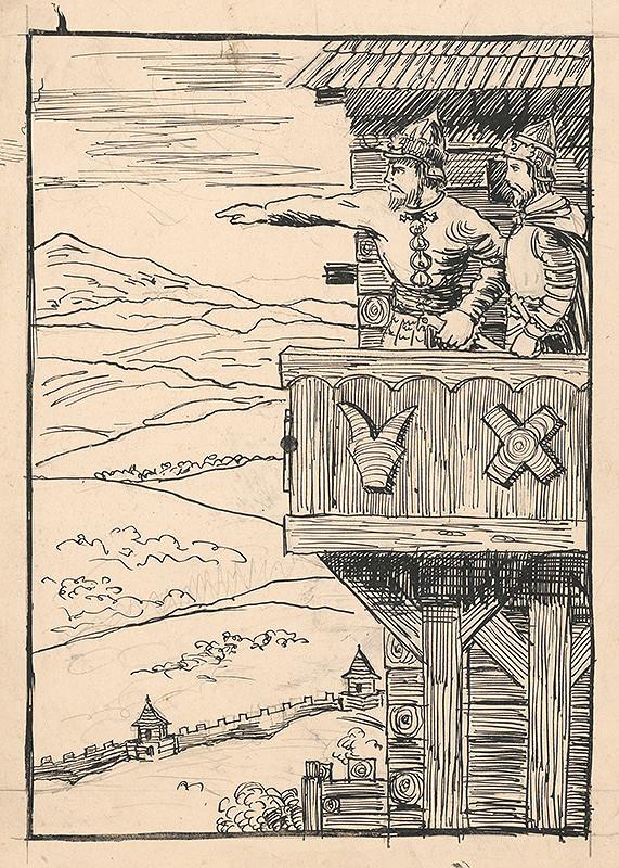 Arnold Peter Weisz-Kubínčan - Ilustrácia k rozprávke